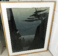 Way to the Sea 1980 40x30 Super Huge  Limited Edition Print by Will Barnet - 1