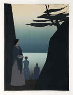 Way to the Sea 1980 40x30 Super Huge  Limited Edition Print by Will Barnet - 2
