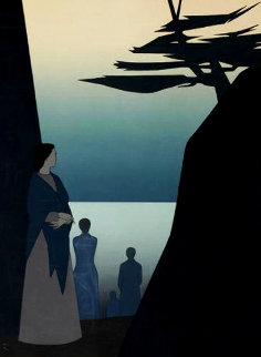 Way to the Sea 1980 Huge Limited Edition Print - Will Barnet