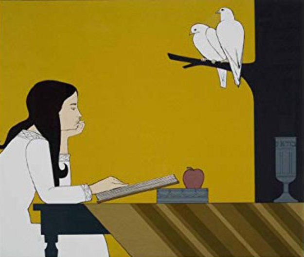 Instrospection AP 1972 Limited Edition Print by Will Barnet