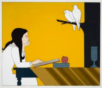 Introspection 1972 Limited Edition Print - Will Barnet