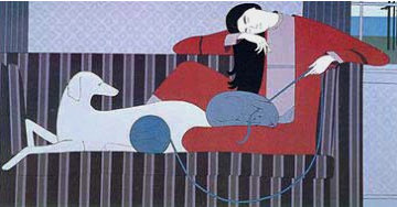 Interlude Limited Edition Print - Will Barnet