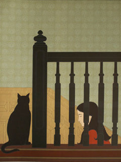 Bannister 1981 Limited Edition Print by Will Barnet