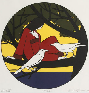 Circe II 1980 Limited Edition Print by Will Barnet