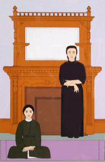 Reflection 1971 Limited Edition Print by Will Barnet