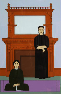 Reflection AP 1971 Limited Edition Print by Will Barnet