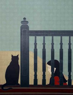Bannister BAT 1981 Limited Edition Print by Will Barnet