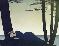 Reclining Woman 1982 Limited Edition Print by Will Barnet - 1
