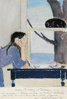 Spirit of Youth Mixed Media 23x19 Works on Paper (not prints) by Will Barnet - 1