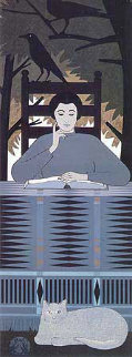 Totem 1982 AP Limited Edition Print by Will Barnet