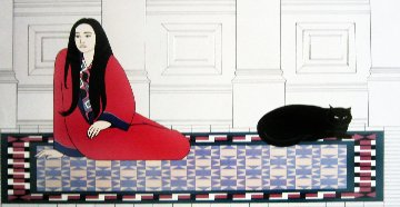 Soliloquy AP 1979 Limited Edition Print by Will Barnet