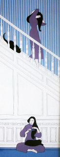 White Stairway AP 1974 Limited Edition Print - Will Barnet
