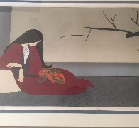 Madame Butterfly Limited Edition Print by Will Barnet - 1