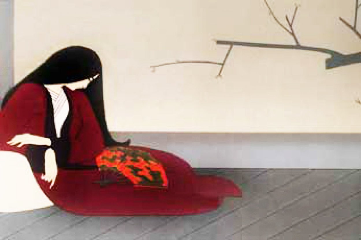 Madame Butterfly Limited Edition Print by Will Barnet