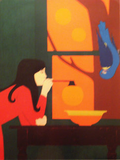 Summer - Silent Season 1975 Limited Edition Print - Will Barnet