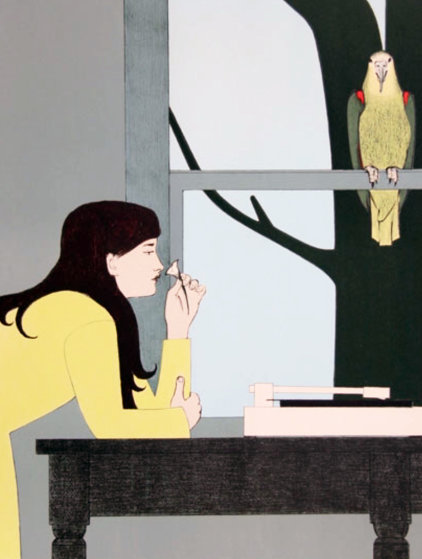 Silent Season - Spring 1971 Limited Edition Print by Will Barnet