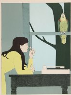 Silent Season - Spring 1971 Limited Edition Print by Will Barnet - 1