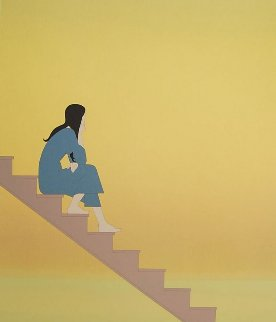 Stairway to the Sea 1982 Limited Edition Print by Will Barnet