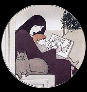 Twilight 1988 Limited Edition Print by Will Barnet