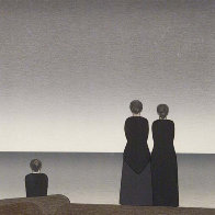 Peter Grimes (From the Metropolitan Opera II Suite) 1983 Limited Edition Print by Will Barnet - 0