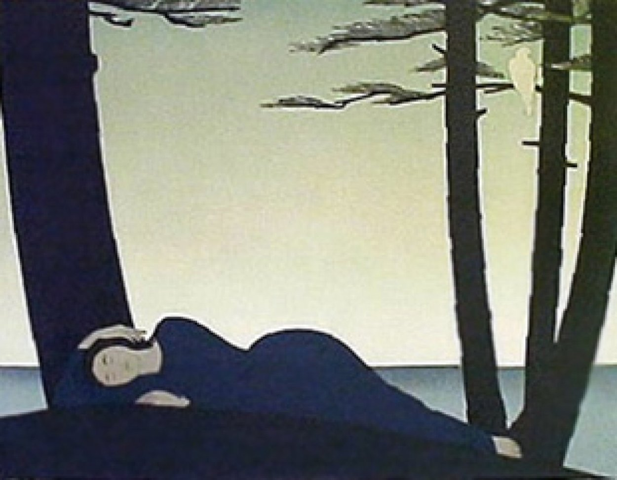 Reclining Woman 1982 Limited Edition Print by Will Barnet
