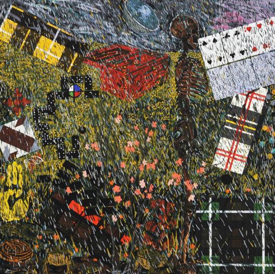 Four Seasons:  Spring AP 1992 Limited Edition Print by Jennifer Bartlett