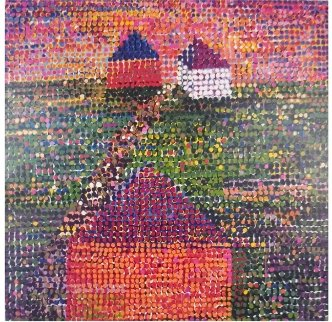Houses 2005 Limited Edition Print - Jennifer Bartlett