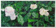 White Roses PP 2013 Super Huge Limited Edition Print by Jennifer Bartlett - 1
