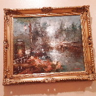 Untitled Painting 30x25 Original Painting by Edward Barton - 1