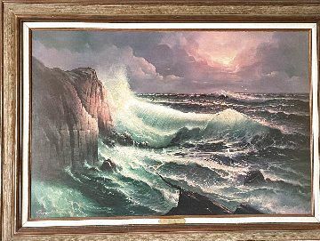 One with the Sea 1970 32x44 Super Huge Limited Edition Print - Edward Barton