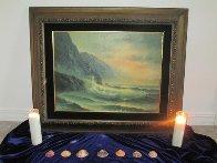 Seascape 28x34 Original Painting by Edward Barton - 2