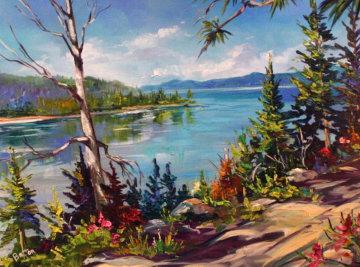 Tahoe 2006 23x32 Original Painting - Steve Barton