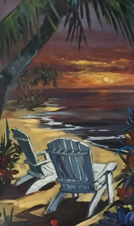 A Love Story 48x24 Original Painting - Steve Barton