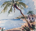 Untitled Watercolor 23x26 Florida Watercolor - Steve Barton