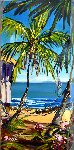 Laid Back 24x12 Original Painting - Steve Barton