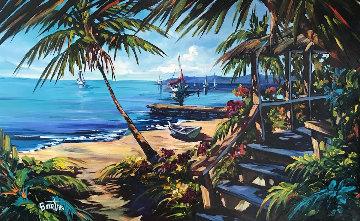 Dreams Come True 42x62 Super Huge Original Painting - Steve Barton