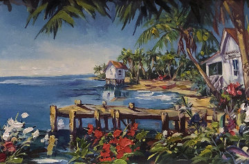 Window to Paradise 2004 Embellished Limited Edition Print - Steve Barton