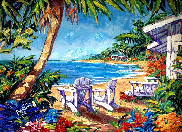 Island Hideaway 2003 Embellished Limited Edition Print - Steve Barton