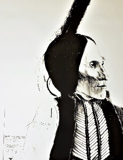 Chief White Man - Kiowa 1973 Limited Edition Print by Leonard Baskin