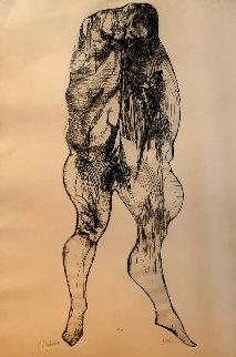 Distention 1965 Limited Edition Print - Leonard Baskin