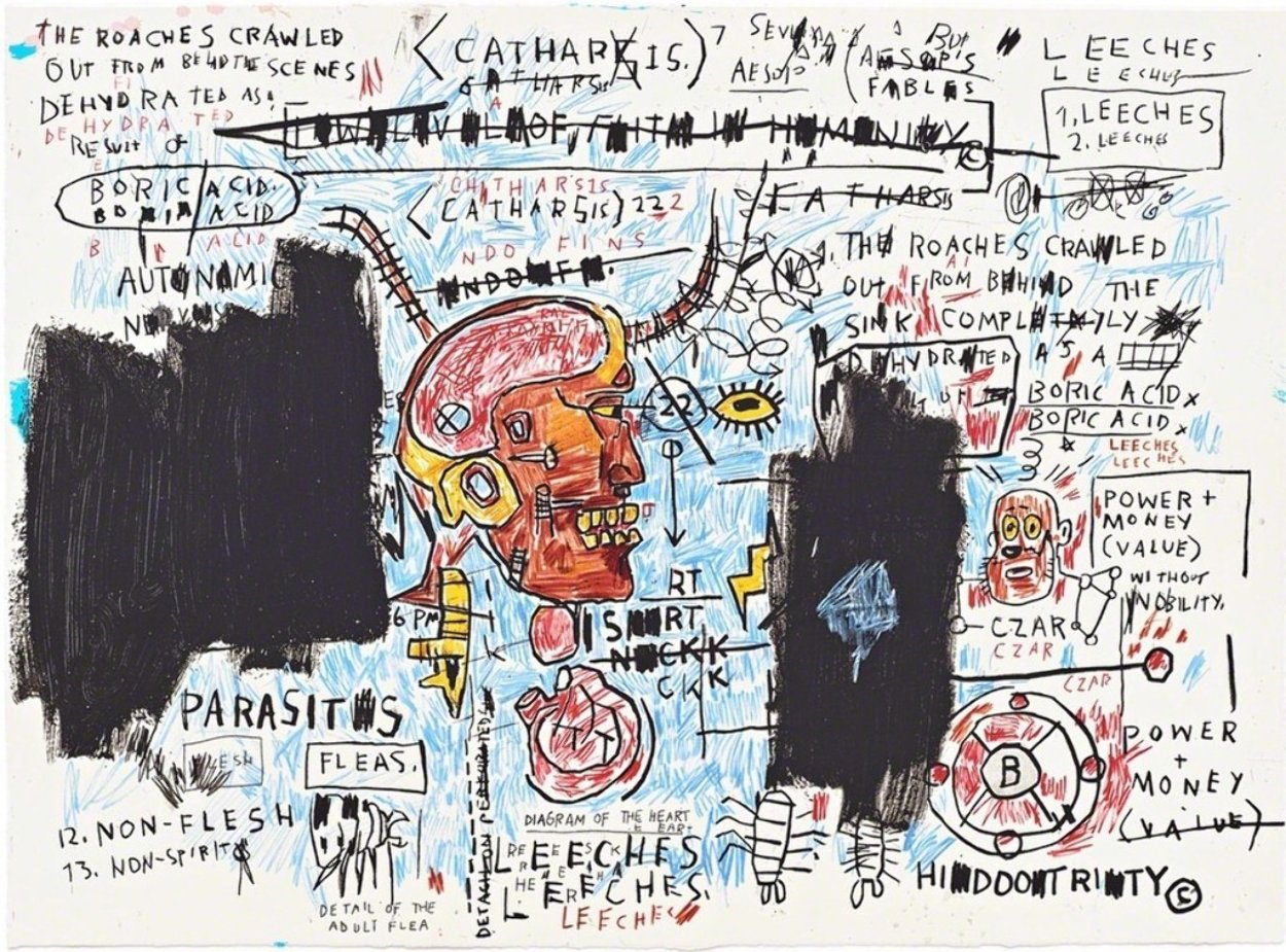Leeches 2017 Limited Edition Print by Jean Michel Basquiat