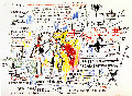 Boxer Rebellion  PP 2018 Limited Edition Print - Jean Michel Basquiat