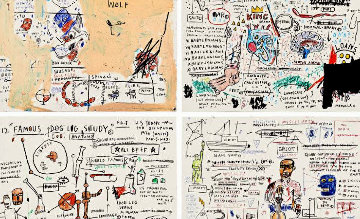 Porfolio of 4 Prints  2019 Limited Edition Print - Jean Michel Basquiat