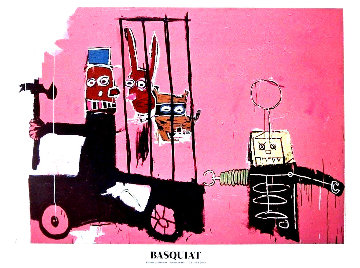 Foundation Beyerler Molasses Poster 2010 Limited Edition Print by Jean Michel Basquiat