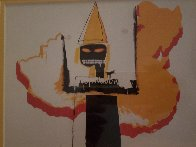 Untitled Portrait 1991 Limited Edition Print by Jean Michel Basquiat - 2