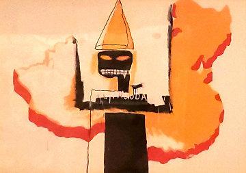 Untitled Portrait 1991 Limited Edition Print by Jean Michel Basquiat