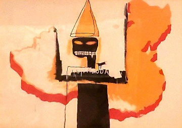 Untitled Portrait 1991 Limited Edition Print - Jean Michel Basquiat