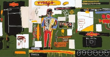 Zydeco 1991 Limited Edition Print by Jean Michel Basquiat