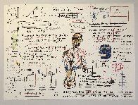 Undiscovered Genius 1982 Limited Edition Print by Jean Michel Basquiat - 1