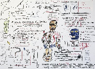 Undiscovered Genius 1982 Limited Edition Print by Jean Michel Basquiat - 0
